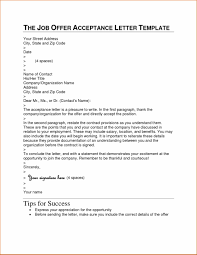 Uk Cover Examples Job Letter Of Acceptance Template Acceptance