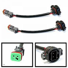 malibu landscape lighting wire connectors awesome ijdmtoy 2 heavy duty wirings fog light converter hd