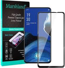 Marshland <b>Tempered Glass</b> Guard for OPPO Reno 2z, <b>9D</b> tempered ...