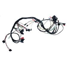 ford mustang electrical and wiring wiring harness cal mustang com underdash wiring loom 1968 standard tach only