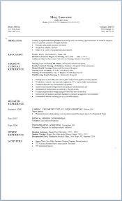 Resume Objective Nursing Nursing Resume Objective Resume Objective