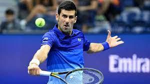 Open the crowd is against Novak Djokovic
