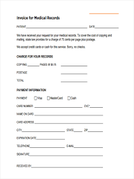 Medical Records Release Form Example Medical Record Request Form Sample Hipaa Records Release Florida 16