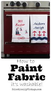how to paint fabric see how to turn fabric into washable works of art