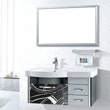 stainless steel bathroom vanities modern vanity china cabinet singapore