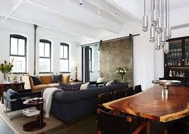 New York Loft Interior Design Warehouse Loft Conceived For A Bachelor In New York City