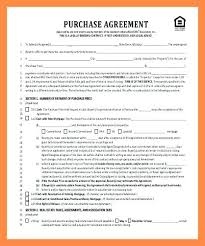 Purchase Agreement Contract Beauteous Buy Sell Agreement Form Private House Sale Home Contract Template