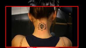тату на шее для девушек женские татуировки на шее