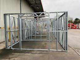 garden building metal frame 4m x 2 5m