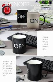 european cup office coffee. ON OFF Switch Discolored Water Cup European And American Exports Of Creative Ceramic Mug With \ Office Coffee U