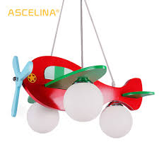 Airplane Pendant Light Us 84 18 29 Off The Airplane Pendant Lamp For Children Bedroom Bee Cartoon Pendant Light Lampshade Modern Plane Children Night Lights Wholesale In