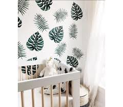 palm branches wall decals