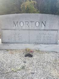 Nona B. Spruell Morton (1906-1975) - Find A Grave Memorial