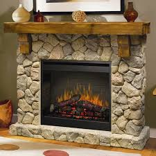 add a rustic charm to your decor with the quintessentially traditional dimplex fieldstone electric fireplace