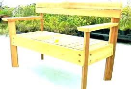 outdoor wooden chair plans. Wood Bench Outdoor With Back Rustic  Benches Wooden Plans Exterior Easy Outdoor Wooden Chair Plans