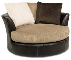 large round swivel chair chairs living room ing and styling guide elites on with footstool large round swivel chair