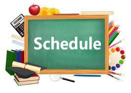 Image result for class schedules