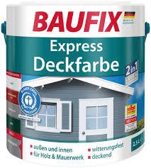 Baufix Buntlack Express Deckfarbe Hellgrau 25 L Otto