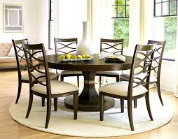 round dining table with hidden chairs