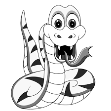 Small Picture Coloring Pages Snake Viper Coloring Page Free Snake Coloring