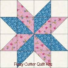 Best 25+ Quilt blocks easy ideas on Pinterest | Quilt blocks ... & Free Easy Quilt Block Patterns | ... Points Star Pre-Cut Easy Quilt Adamdwight.com