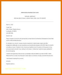 Administrative Cover Letter Example 9 10 Administrative Assistant Cover Letter Samples Free