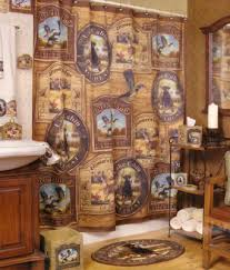 inspiration of cabin shower curtains and best 20 rustic shower
