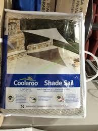 coolaroo shade sail 13 triangle
