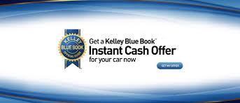 get a kelley blue book instant cash offer for your car