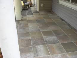 concrete designs florida slate entryway of outdoor patio tiles