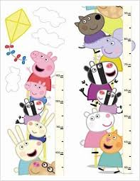 Peppa Pig Height Chart 12432 Brewers Wallpapers A Fun
