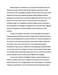 Example Of A Analysis Essay Literary Analysis Essay Example W Annotations