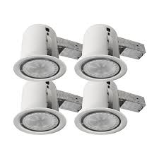 4 led recessed lighting bazz 4 inch led 12w recessed light kit 4 pack fastest installation
