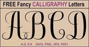 calligraphy alphabet printable a z