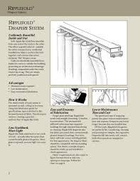 Ripplefold Drapery System Fabrication Guide Pages 1 8