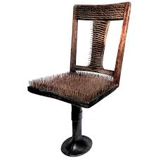 uncomfortable chair. Simple Chair Chair Of Nails  The Worlds Most Uncomfortable For Sale And 1stDibs