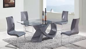 chairs small hideaway sets top chair dining square rovigo glass oval gumtree chrome extending and set