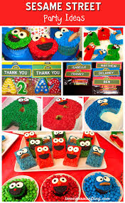 Sesame Street Party Ideas Two Sisters