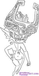 Zelda Twilight Princess Coloring Pages