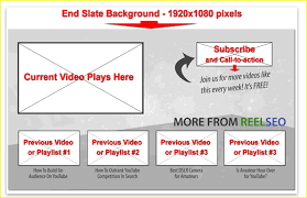 cards templates free youtube video end card templates tools the easiest way to