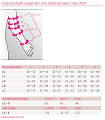 Ready Wrap Size Chart Circaid Juxtafit Essentials Armsleeve Inelastic Supports