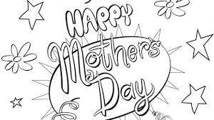 Print A Mother S Day Card Online Coloring Pages For Kids To Print Unicorns Halloween Masks Free