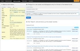 Techblog Create The Perfect Bibliography With The Csl Editor