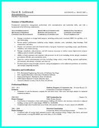 Construction Superintendent Resume Example Luxury Construction