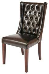 faux leather restaurant dining chairs. southwell dining chair faux leather restaurant chairs