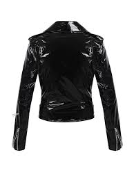 patent leather biker jacket patent leather biker jacket