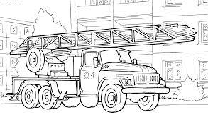 Camion De Pompier Coloriages Des Transports Page 2 S Coloriage Camion Pompier A ImprimerL