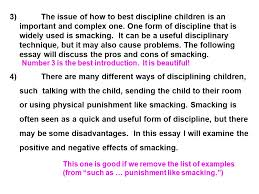 timed writing exam preparation when week how long hour what  3 the issue of how to best discipline children is an important and complex one