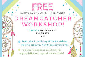 The Story Behind Dream Catchers PAST EVENT] Free Dreamcatcher Workshop WM Featured Events 85
