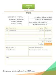 Simple Invoice Template Free Download Creative Designer Templates ...